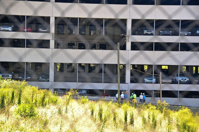 Parking Deck Collapses at Hyatt Place Hotel