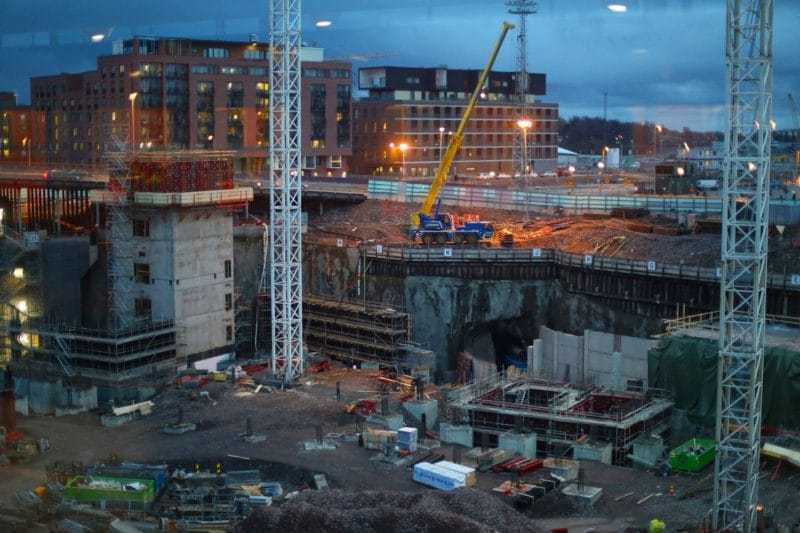 1 Killed, 1 Injured in Helsinki Construction Site